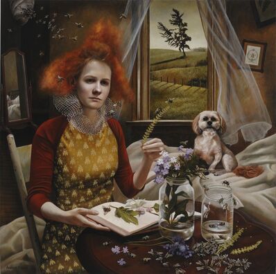 Andrea Kowch, 'Queen's Court - Limited Edition Signed Print', 2019