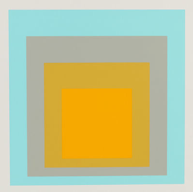 Josef Albers, 'The Portfolio Homage to the Square', 1962