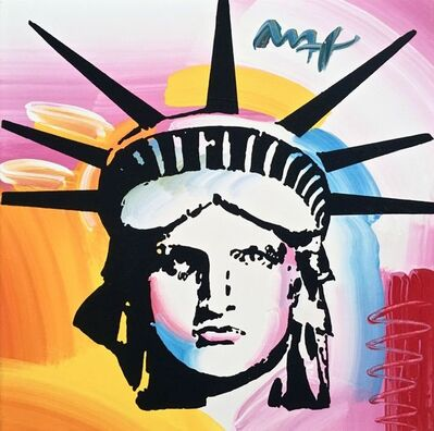 Peter Max, 'Liberty Head', 2006