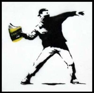 Mr. Brainwash, 'Banksy Thrower (15) ', 2015