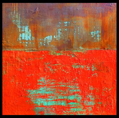 Willie Little, 'Tangerine Crossing', 2019