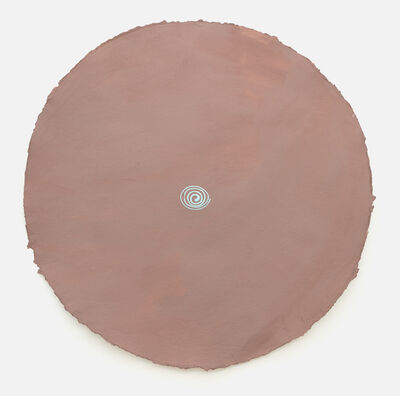 Polly Apfelbaum, 'Snail circle drawing', 2018-2019