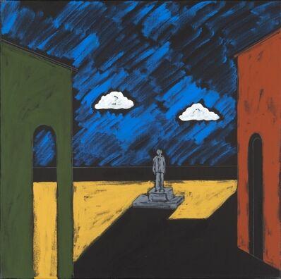 Tano Festa, 'Omaggio alla pittura d'azione', 1980s