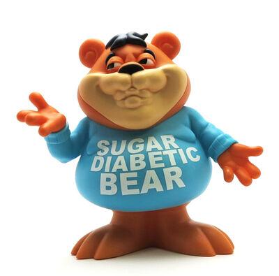 Ron English, ''Cereal Killers: Sugar Diabetic Bear' Vinyl Art Figure', 2015