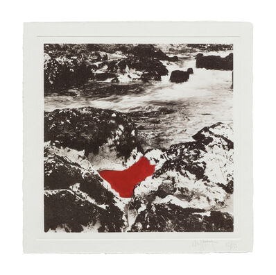 Andy Goldsworthy, 'Red Pool', 1997