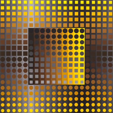 Victor Vasarely, 'Untitled from Permutations', 1960-1970