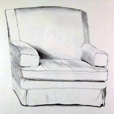 David Hockney, 'Slightly Damaged Chair ', 1971