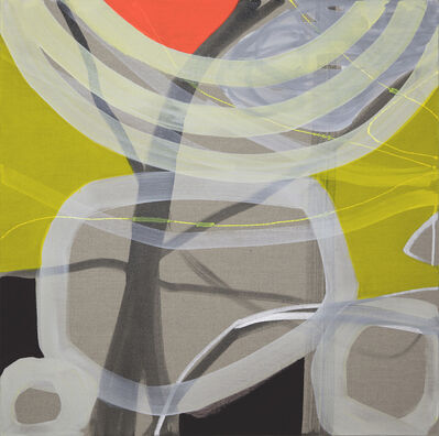 Rachelle Krieger, 'Trees with Light Rays 1', 2017