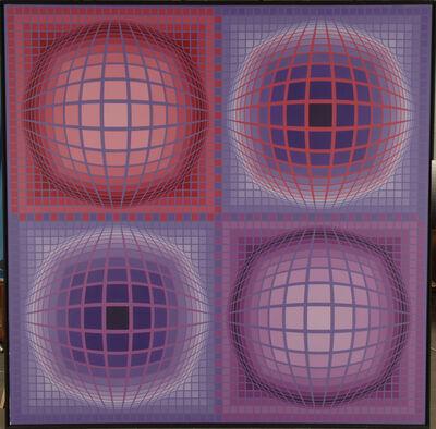 Victor Vasarely, 'ERRO', 1987