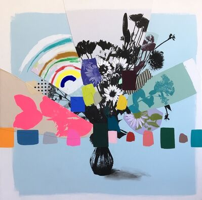 Emily Filler, 'Vintage Bouquet (rainbow)', 2019