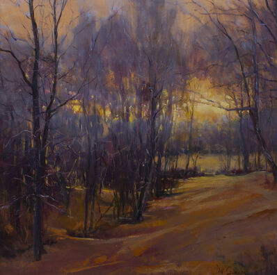 Dot Courson, 'Warm Winter Glow', 2019