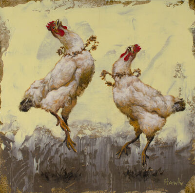 Dana Hawk, 'Fancy Dancing Chicks', 2019