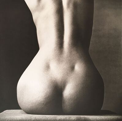 Irving Penn, 'Sitting Nude Rear, New York, 1993', 1993