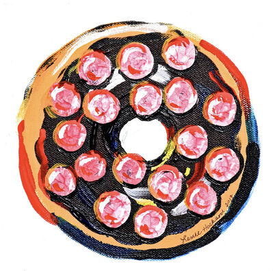 Leslie Hackard, 'Single Doughnut #1'