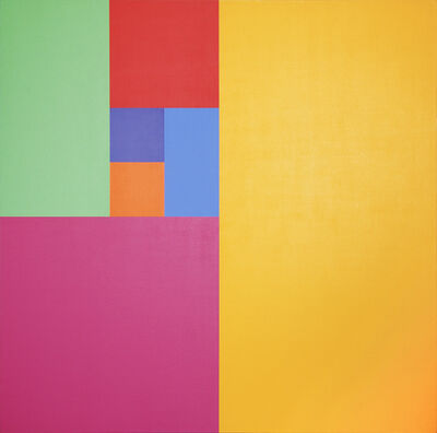 Mario Yrisarry, 'Septenary Yellow', 1974