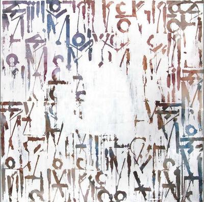 RETNA, 'White Distressed II', 2015