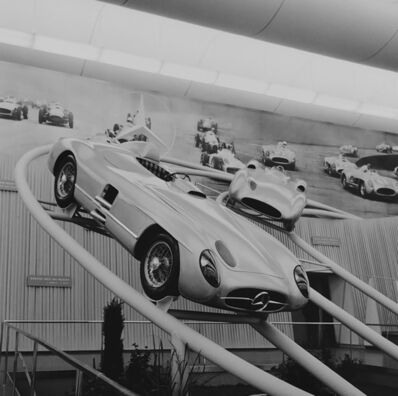 Jesse Alexander, 'Mercedes Benz display at a German auto show, Frankfurt', ca. 1960