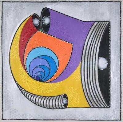 Luis Cruz Azaceta, 'Museum Plan for the Caribbean', 2007
