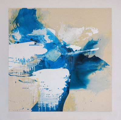 Janet Filomeno, 'Blue Crystals Revisited No.1', 2017