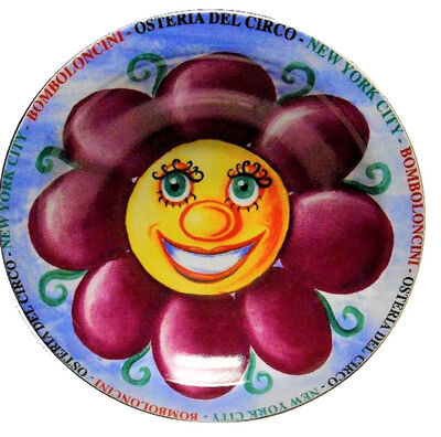 "Kenny Scharf, '""Buon Ricordo"", 2000,  Porcelain Bowl/Plate, Edition 53/250 (verso), not signed.', 2000"