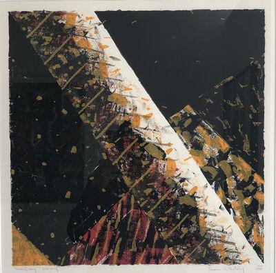 Samia Halaby, 'Position Delay', 1981