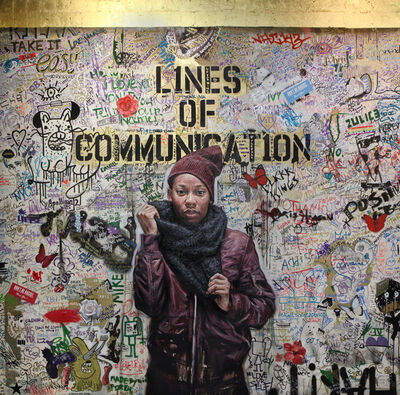 Tim Okamura, 'Lines of Communication', 2018