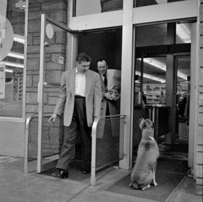 Vivian Maier, 'Men with Dog (VM19XXW04199_)'