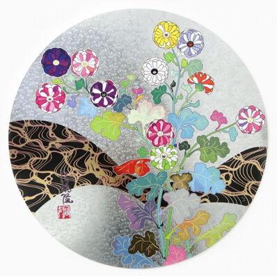 Takashi Murakami, 'Korin: Flowers', 2016