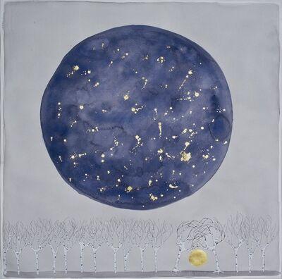 "Crystal Liu, 'the moon , ""you and me ""', 2015"