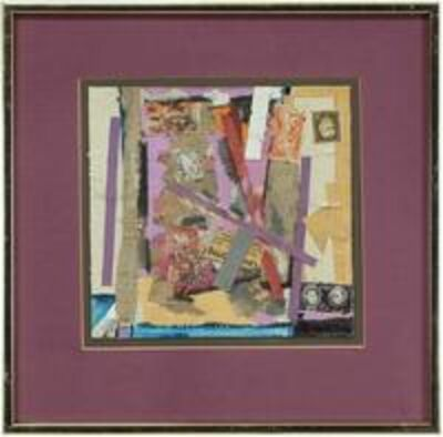 William Proweller, 'Untitled Mixed Media Collage', 20th Century