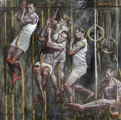 Mark Beard, 'Five Gymnasts in Training', date unknown