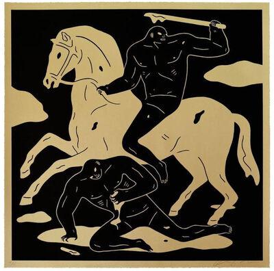 Cleon Peterson, 'The Nightcrawler - Gold', 2015