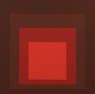Josef Albers, 'Albers Homage to the Square screen-print 1977 (Josef Albers prints)', 1977