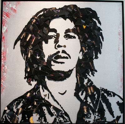 Mr. Brainwash, 'Bob Marley', 2012