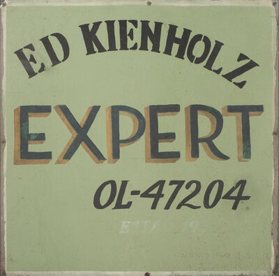 Edward Kienholz, 'Expert', 1977