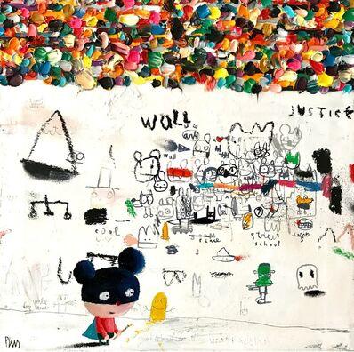 Edgar Plans, 'Wall notes', 2018
