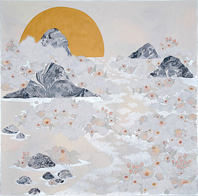 Crystal Liu, 'the fog, ''in waves''', 2019