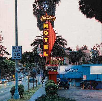 Bertrand Meniel, 'Holiday Lodge Motel', 2019