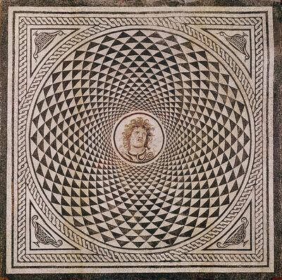 'Mosaic Floor with Head of Medusa', ca. 115 -150
