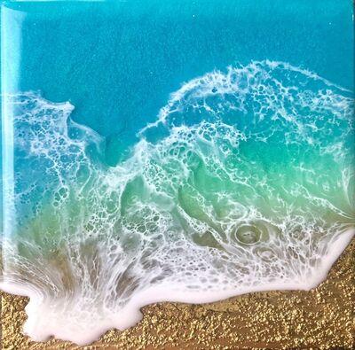 Ana Hefco, 'Teal Waves - Dream', 2020
