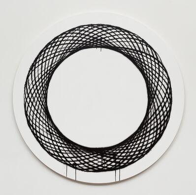 Jason REVOK, 'SpiroLoop_small_3/20_B/W_2', 2020