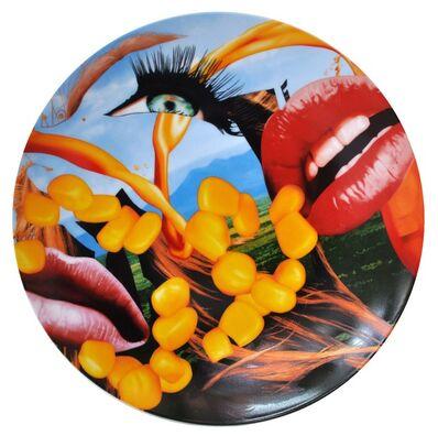 Jeff Koons, 'Lips Plate by Bernardaud', 2013