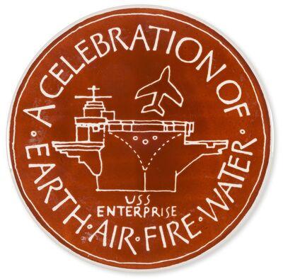Ian Hamilton Finlay, 'A celebration of Earth Air Fire Water', c.1975