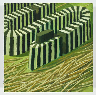 Judith Berry, 'Bending Black and White Strip', 2012