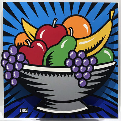 Burton Morris, 'Fruit Bowl Pop Out', 2006