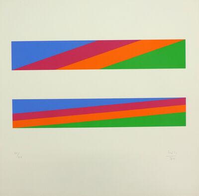 Max Bill, '8 ( 2 4/4) = 8 ', 1974