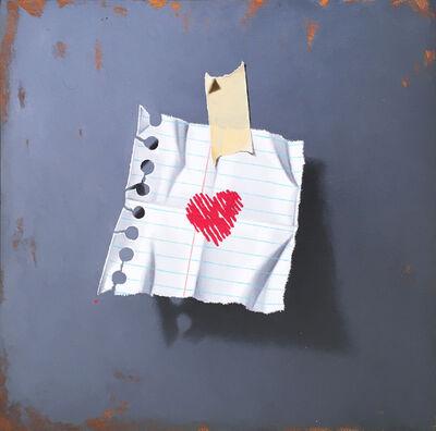 Otto Duecker, 'Heart 1', 2018