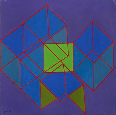 Achille Perilli, 'Una indicazione percettuale', 1981