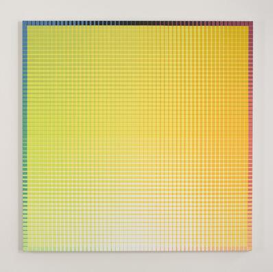 Sanford Wurmfeld, 'II-16 + B (Y-White)', 2001