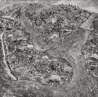 Sohei Nishino, 'Diorama Map Istanbul', 2010-2011